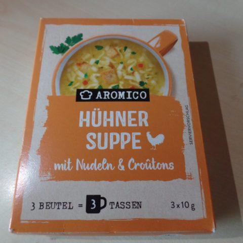 "#1484: Aromico ""Hühner Suppe mit Nudeln & Croûtons"""