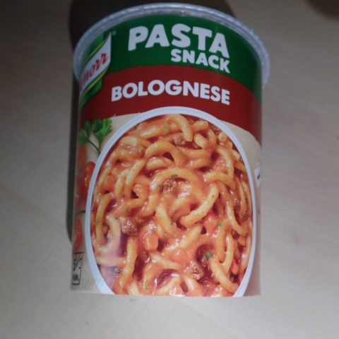 "#1485: Knorr ""Pasta Snack Bolognese"" (2019)"