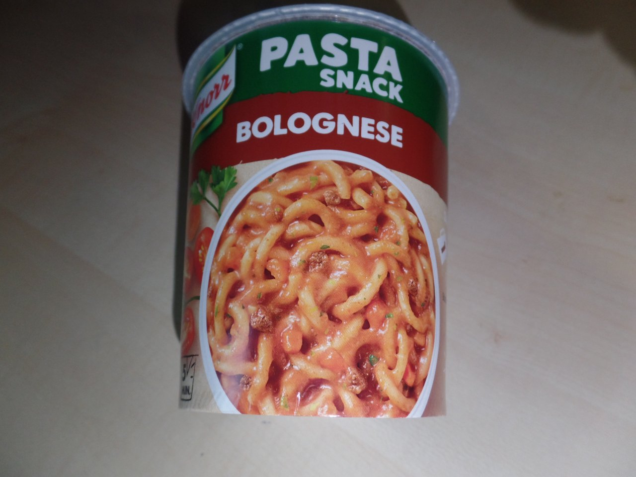 """#1485: Knorr """"Pasta Snack Bolognese"""" (2019)"""