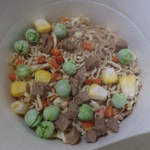 "#1486: Nissin Cup Noodles ""Rind-Geschmack"""