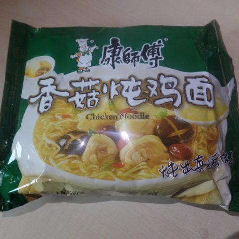 "#1494: Master Kong ""Mushroom Stew Chicken Noodle"" (2019)"