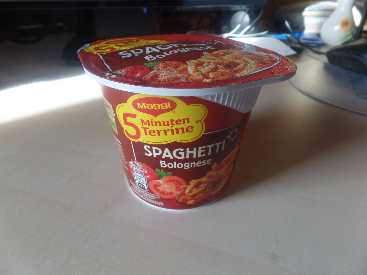 "#1501: Maggi 5 Minuten Terrine ""Spaghetti Bolognese"" (2019)"