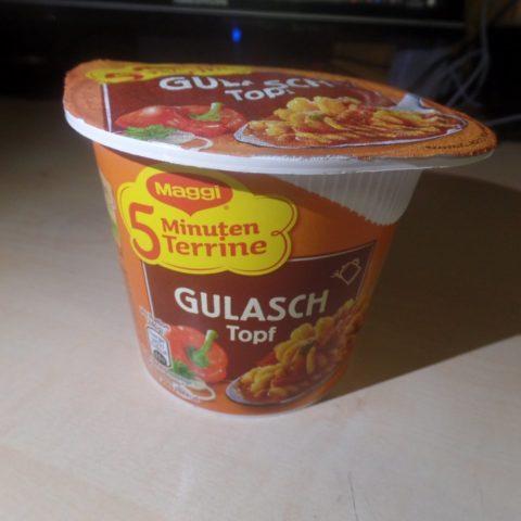 """#1505: Maggi 5 Minuten Terrine """"Gulasch Topf"""" (2019)"""