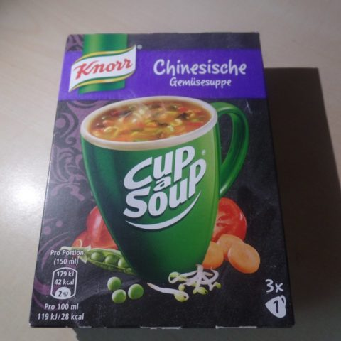 "#1506: Knorr Cup a Soup ""Chinesische Gemüsesuppe"""