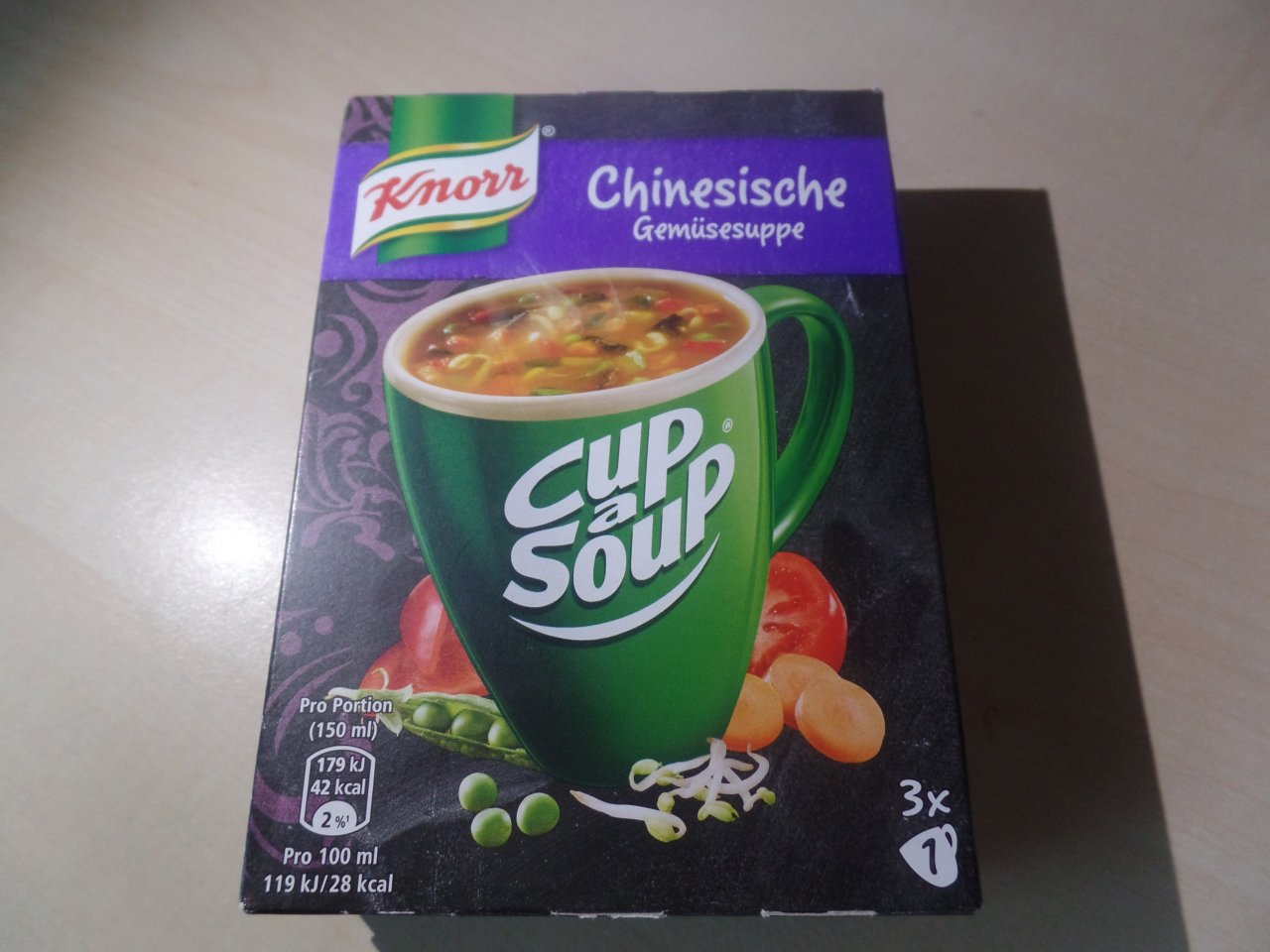 """#1506: Knorr Cup a Soup """"Chinesische Gemüsesuppe"""""""
