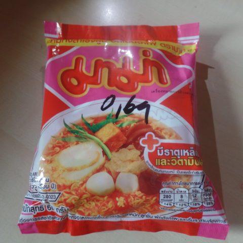 "#334: Mama ""Yentafo Instant Noodles"""