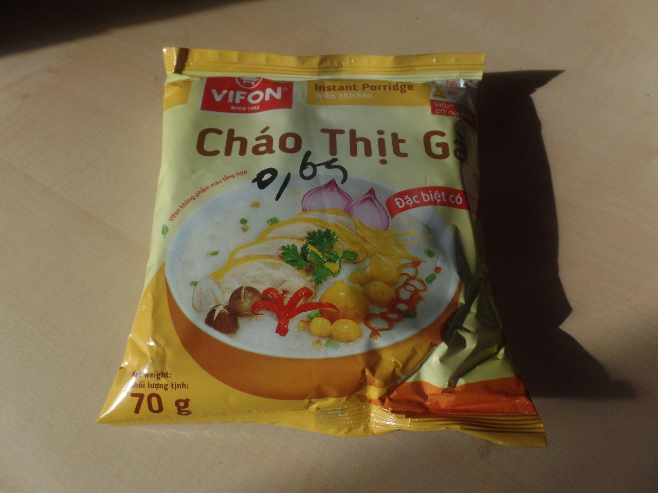 """#1510: Vifon """"Cháo Thịt Gà Instant Porridge with Chicken"""""""