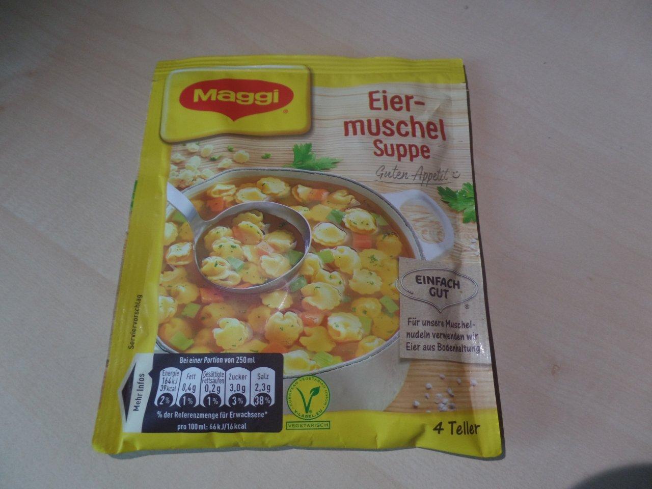 """#1512: Maggi """"Eiermuschel Suppe"""""""