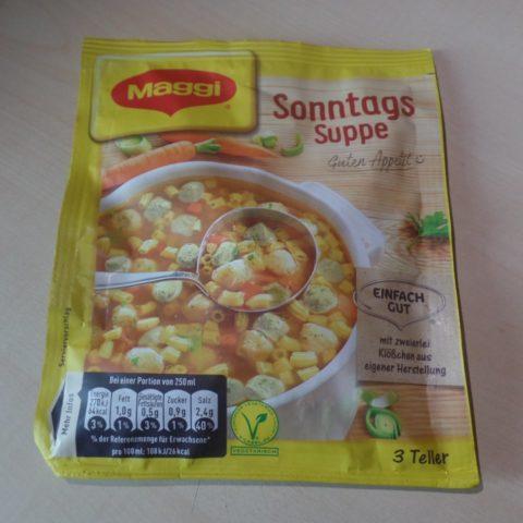 """#1520: Maggi """"Sonntags Suppe"""""""
