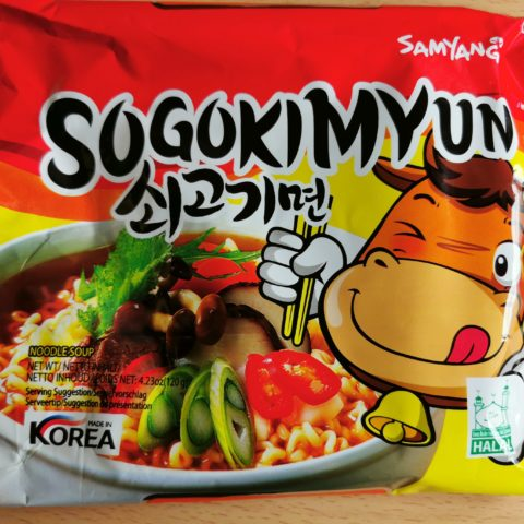 """#1956: Samyang """"Sogokimyun (Instantnudeln mit Rindfleischgeschmack)"""" (2021)"""