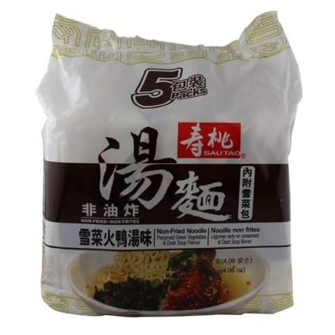 "#1616: Sau Tao Non-Fried Noodle ""Preserved Green Vegetables & Duck Soup Flavour"""