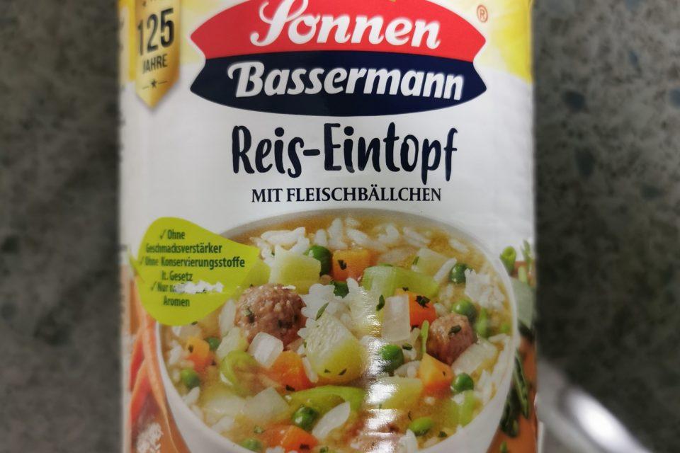 """#2112: Sonnen Bassermann """"Reis-Eintopf mit Fleischbällchen"""""""