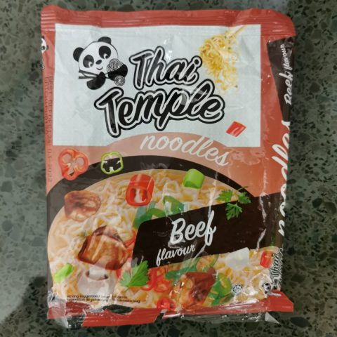 """#2101: Thai Temple """"Noodles Beef Flavour"""""""