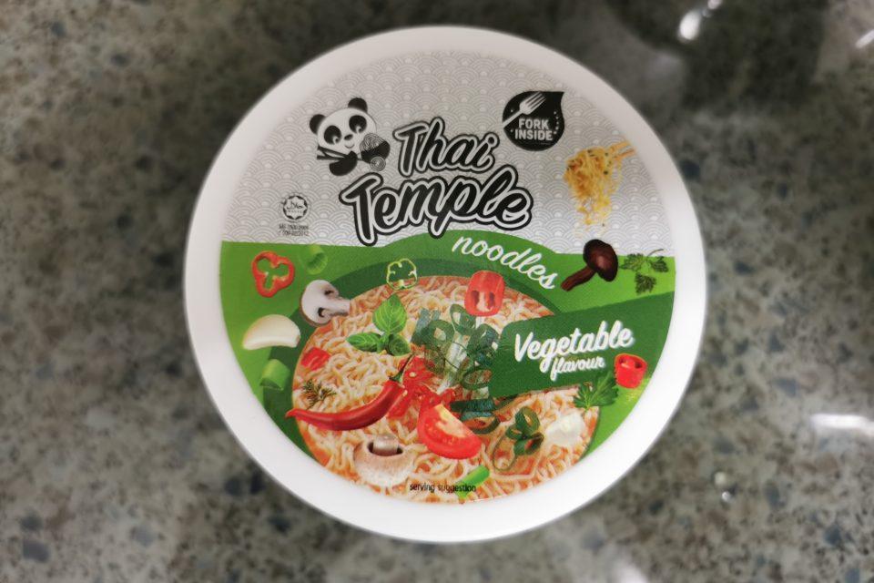 "#2145: Thai Temple ""Vegetable Flavour"" Cup"