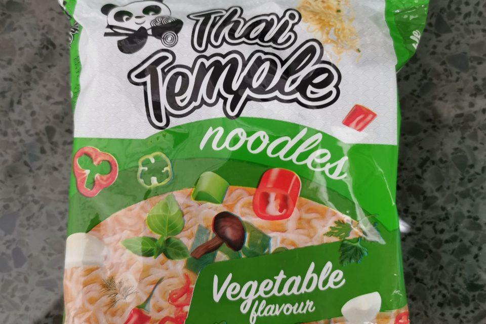 """#2110: Thai Temple """"Noodles Vegetable Flavour"""""""
