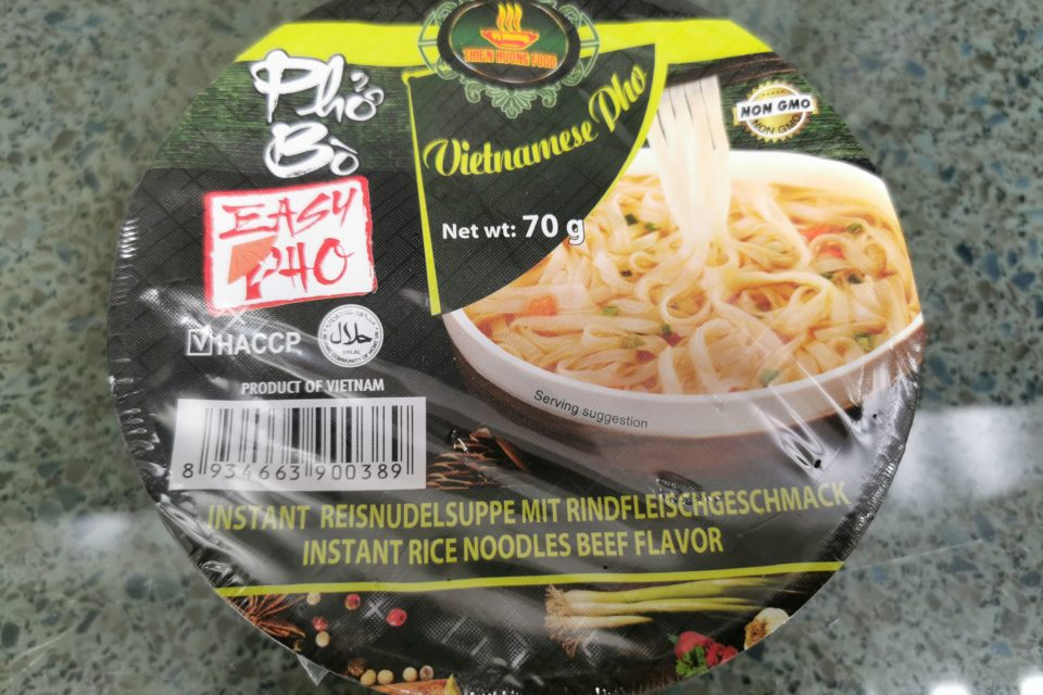 "#1926: Vi Huong "" Pho Bo Instant Rice Noodles with Beef Flavor"""