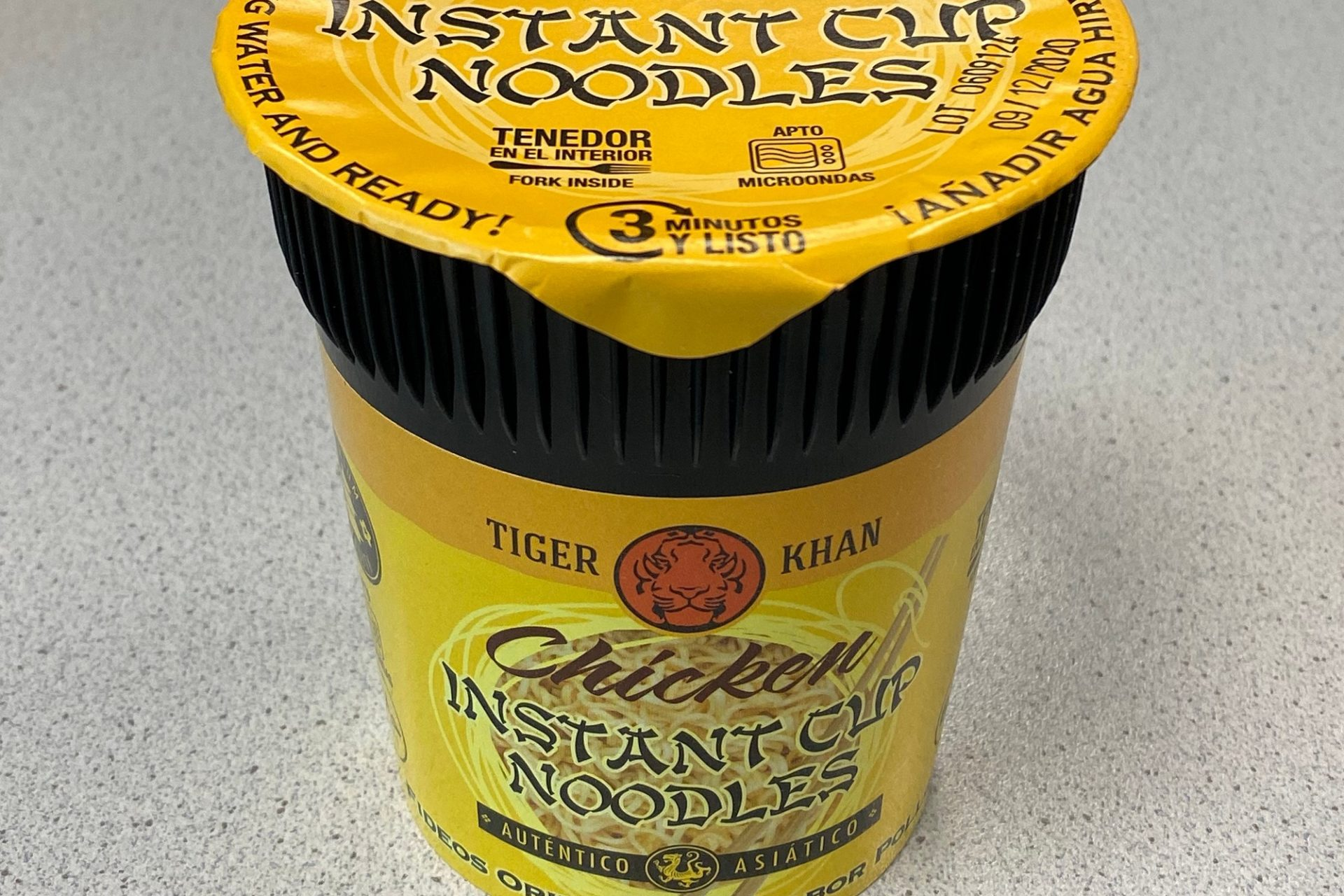 #1675: Tiger Khan Chicken Instant Cup Noodles