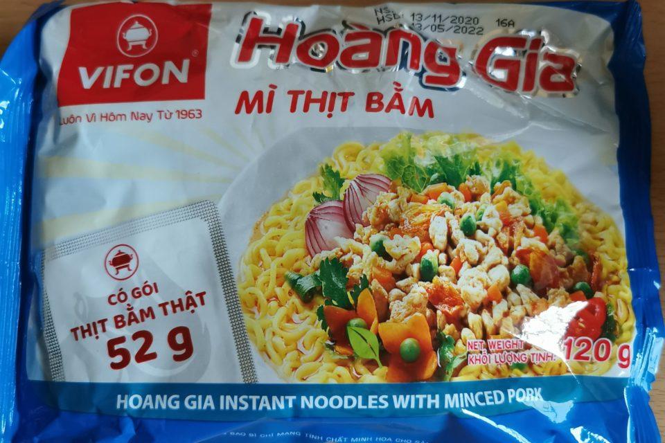 "#1922: Vifon ""Hoàng Gia Mì Thịt Bằm Instant Noodles with Minced Pork"""
