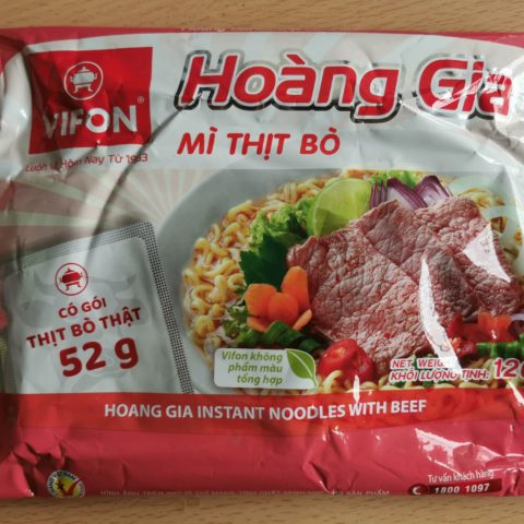 "#1954: Vifon""Hoàng Gia Mì Thịt Bò (Hoang Gia Instant Noodles with Beef)"""