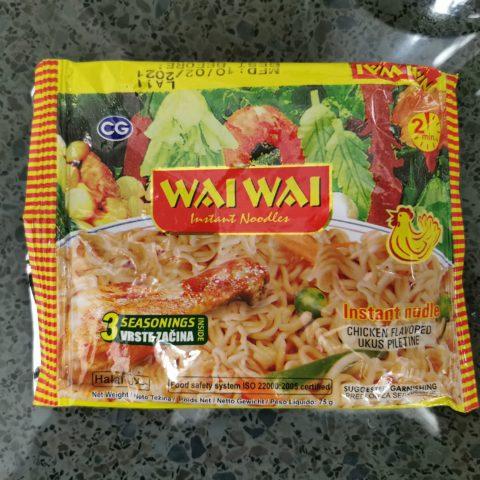 "#2108: Wai Wai ""Chicken Flavored"""