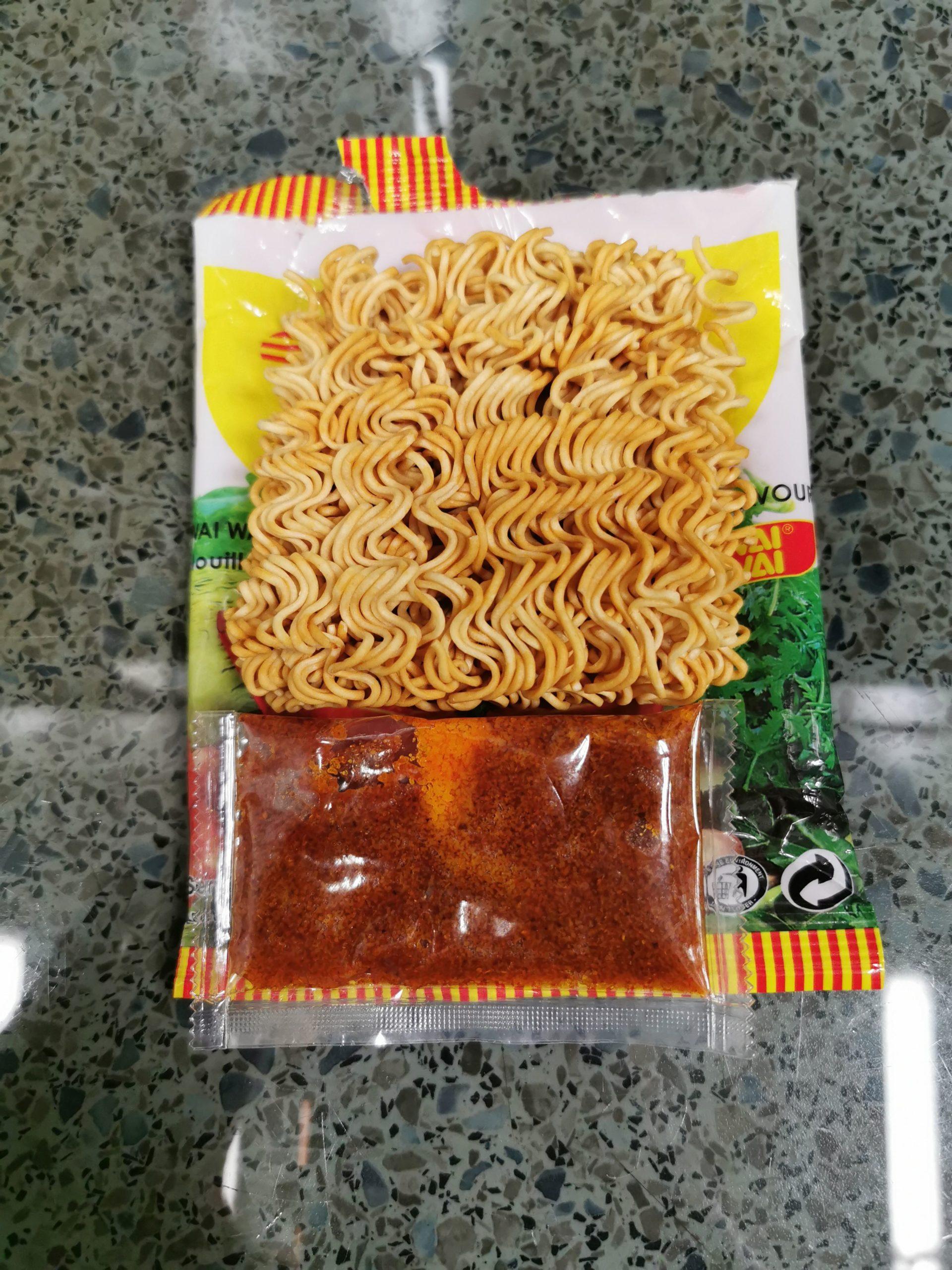 """#1892: Wai Wai """"Sour Soup Flavour"""" Instant Noodles"""