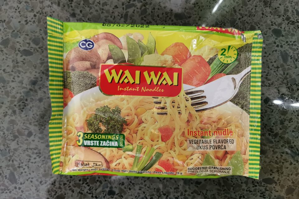 """#2098: Wai Wai """"Instant Nudle Vegetable Flavored"""""""