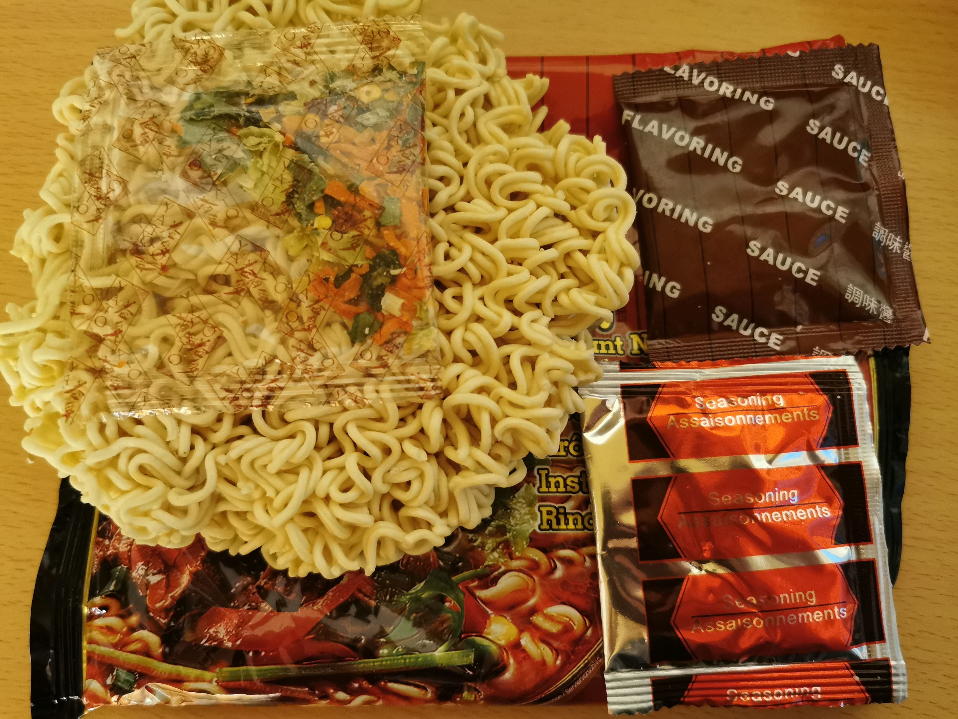 """#2049: Yato """"Instant Noodles Beef Flavour"""" (2021)"""
