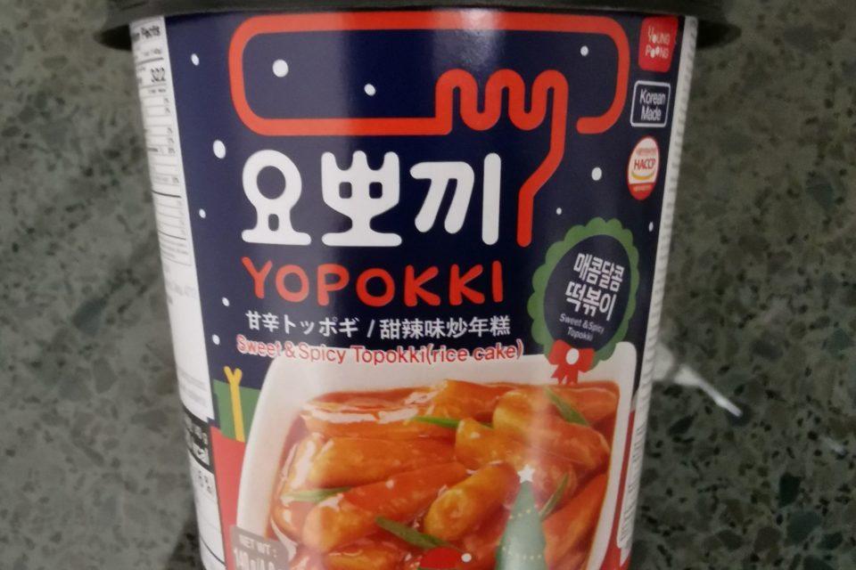 "#2139: Young Poong "" Yopokki - Sweet & Spicy Topokki (Rice Cake)"""