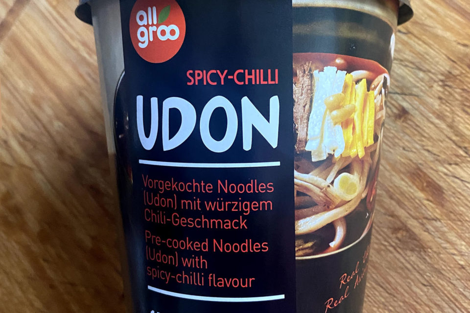 "#1888: All Groo ""Spicy-Chilli Udon"""