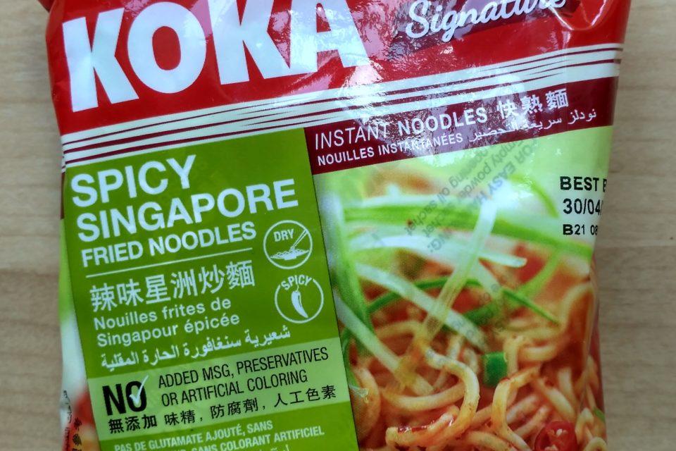 "#2094: Koka ""Spicy Singapore Fried Noodles"""