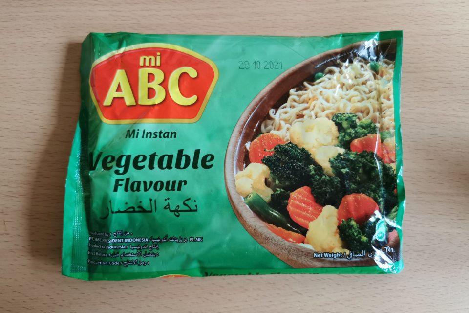 "#2091: mi ABC ""Mi Instan Vegetable Flavour"""