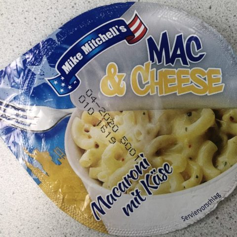 "#1206: Mike Mitchell´s ""Mac & Cheese"" (Macaroni mit Käse)"