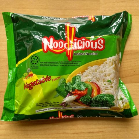 """Noodlicious """"Instant Noodles Vegetable Flavour"""""""