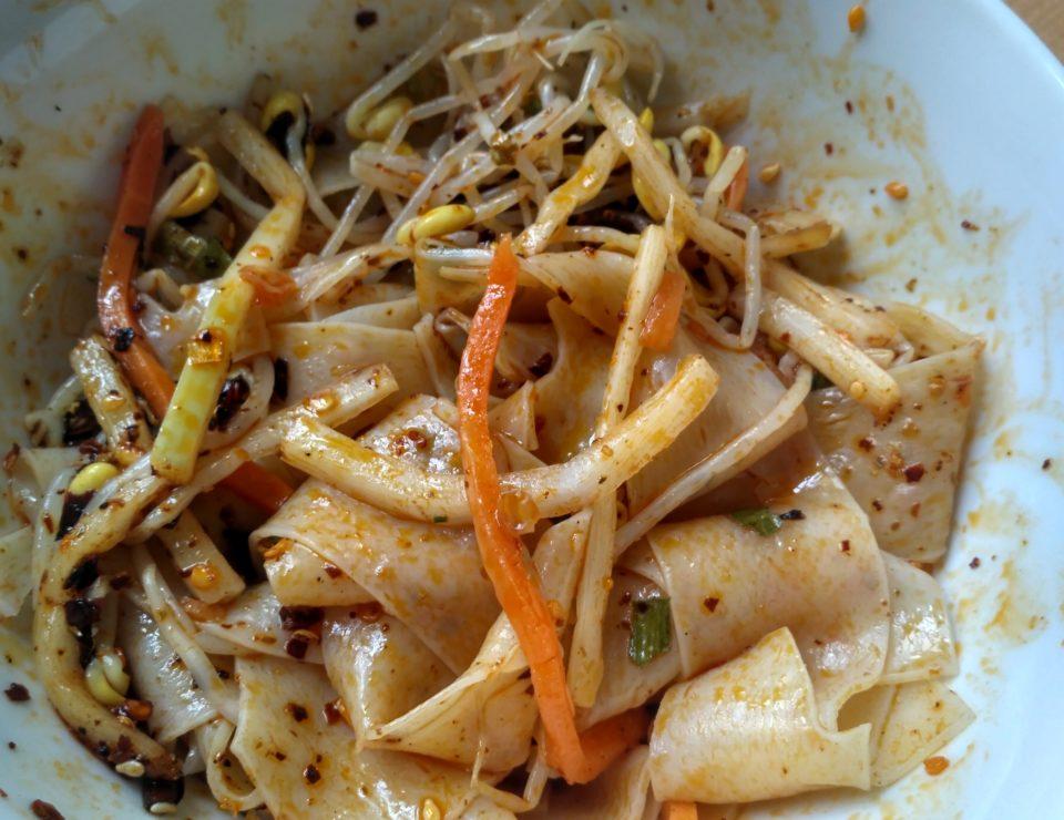 "#2125: Baijia Sichuan ""Breite Nudeln, scharf"" (Shaanxi Red Oil Noodles)"